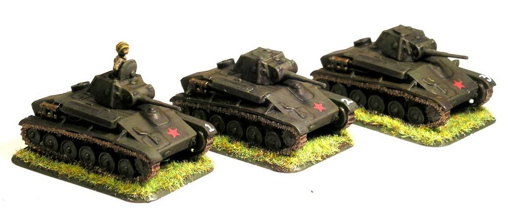 Light Tank Vzvod(3 x T-70)