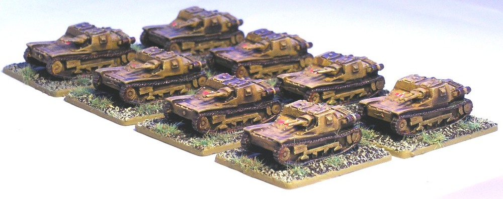 Two Platoons L3 Tankettes