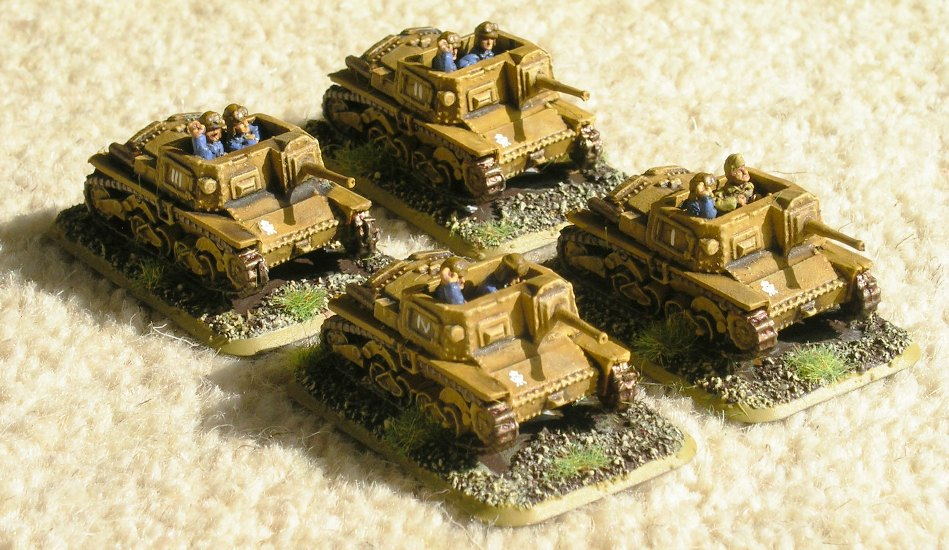 Platoon Semovente 47/32 SP Guns