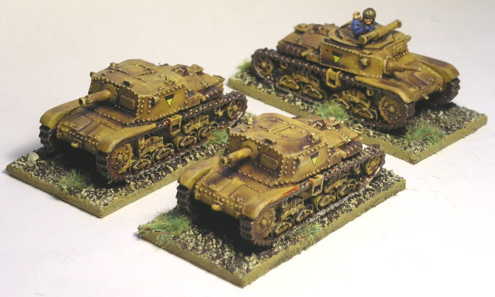 Platoon Semovente 75/18 SP Guns