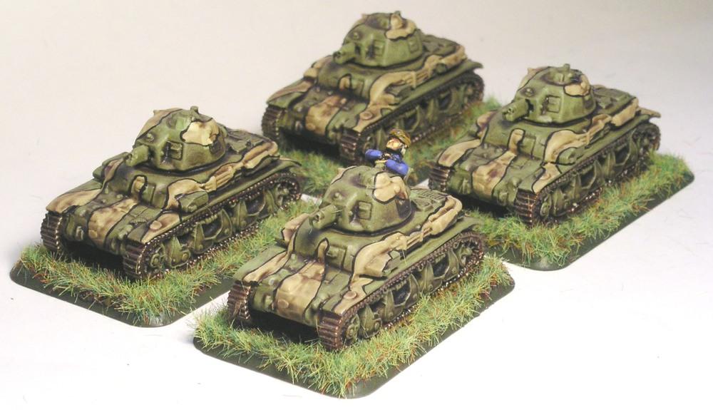 Platoon R-35 Tanks