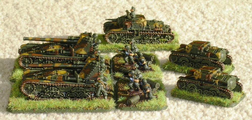 Platoon Semovente 90/53 SP Guns