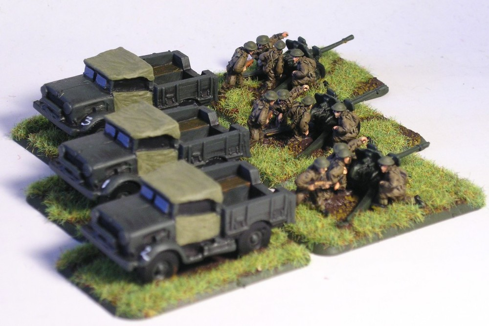 Anti-Tank Gun Platoon (25mm Guns)