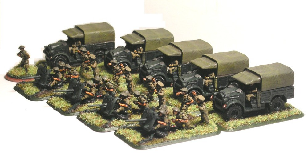 Anti-Tank Platoon (2pdr Guns)