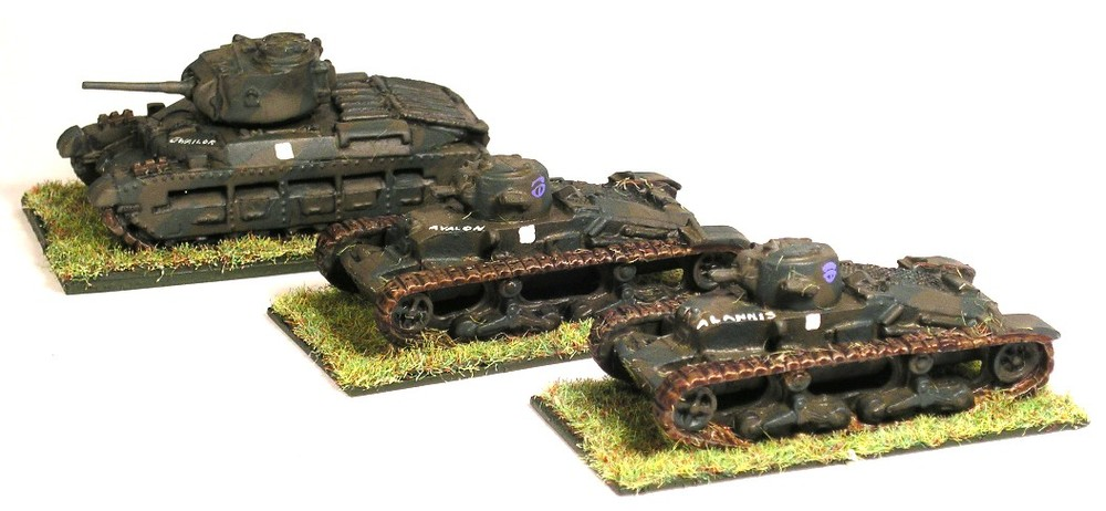 Infantry Tank Troop