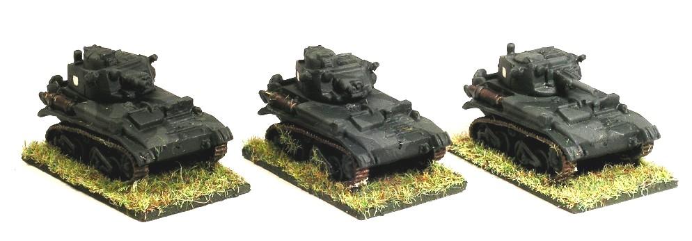 A Troop (3 x Vickers MK VIB)
