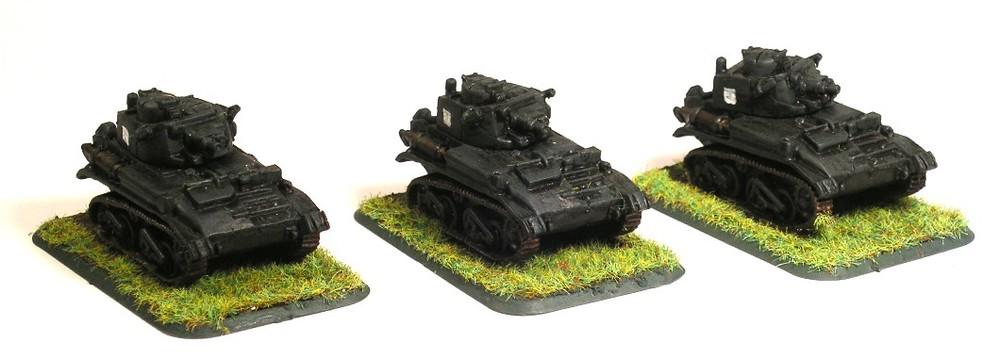 B Troop (3 x Vickers MK VIB)