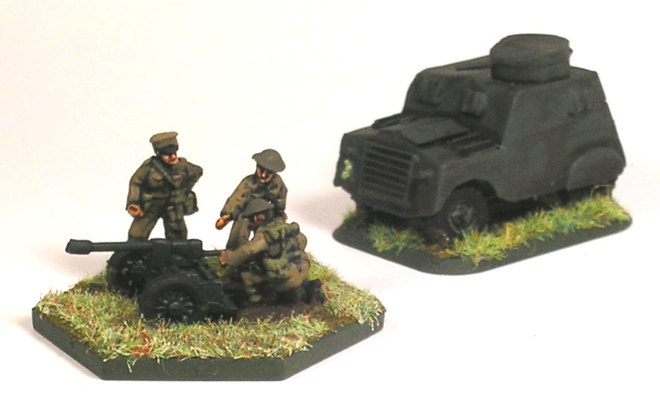 Nordenfelt Projector & Humber Beaverette