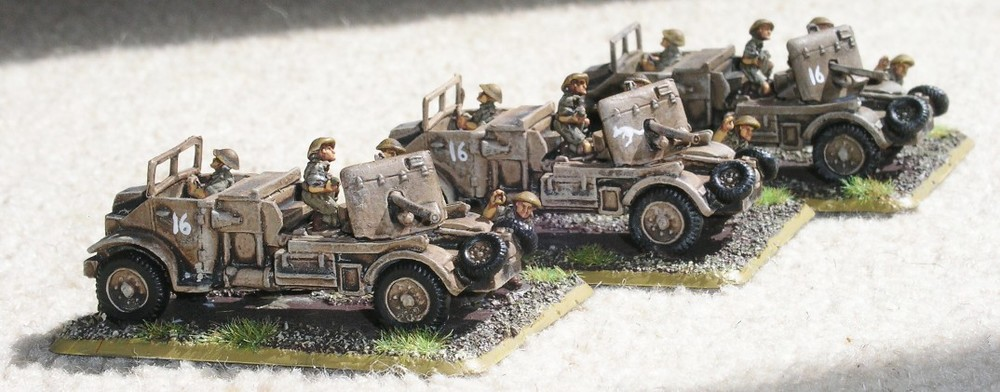 Anti-Tank Platoon (3 x 2lb Portees)