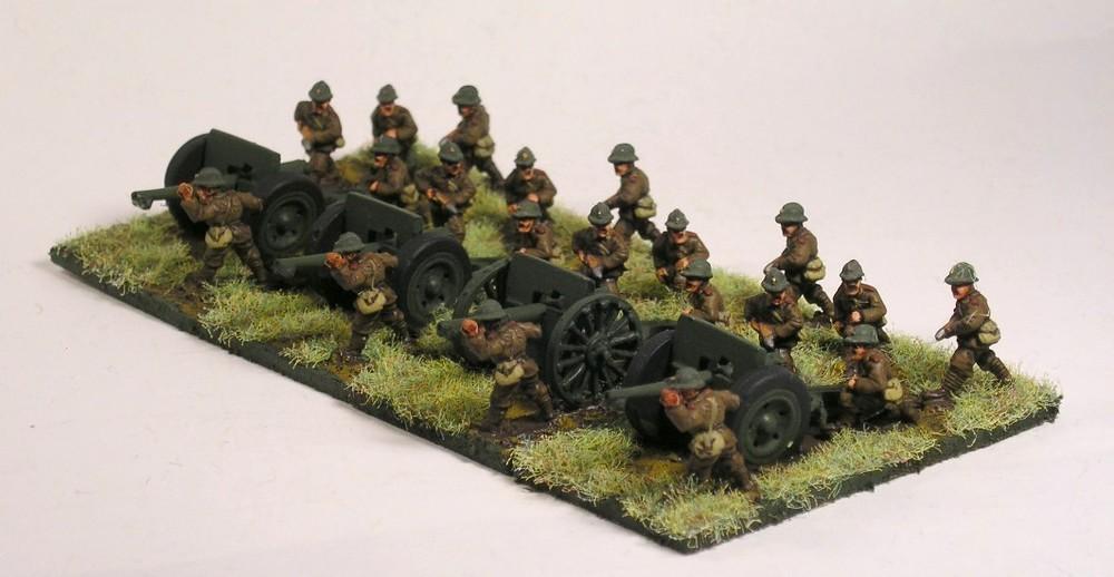 Field Gun Battery(75mm Guns)