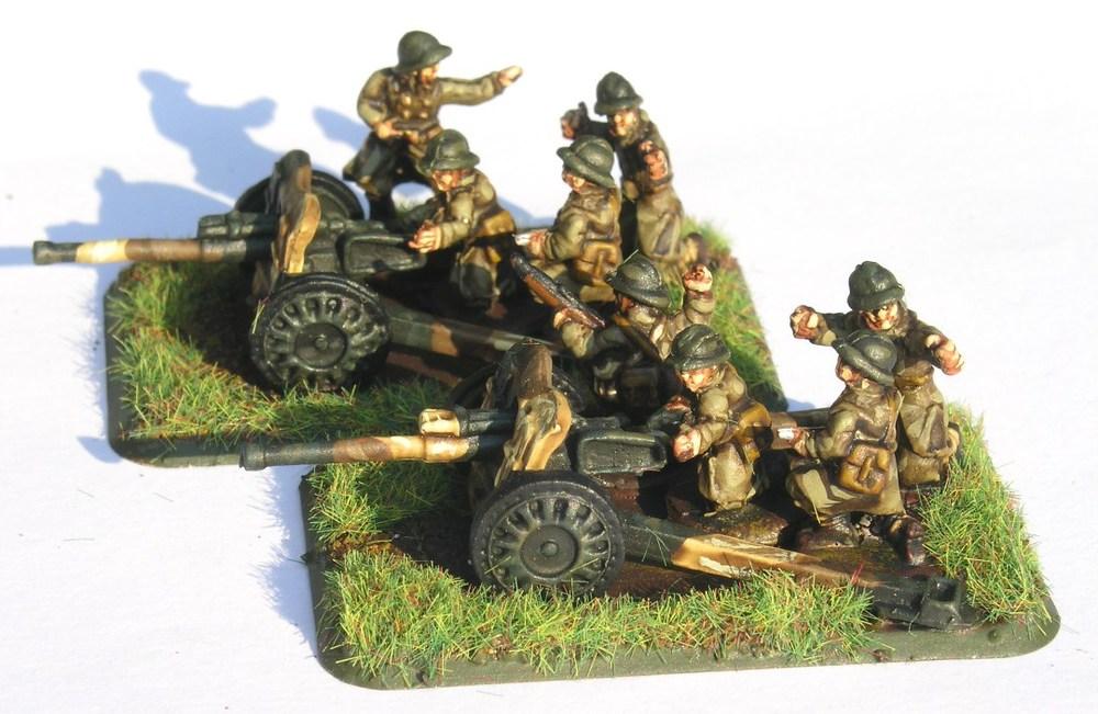 Anti-Tank Platoon(47mm Guns)