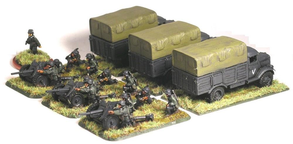 Anti-Tank Platoon(PaK36)
