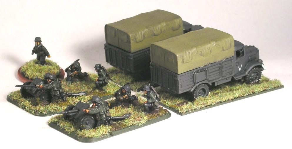 Anti-Tank Platoon(PaK35)
