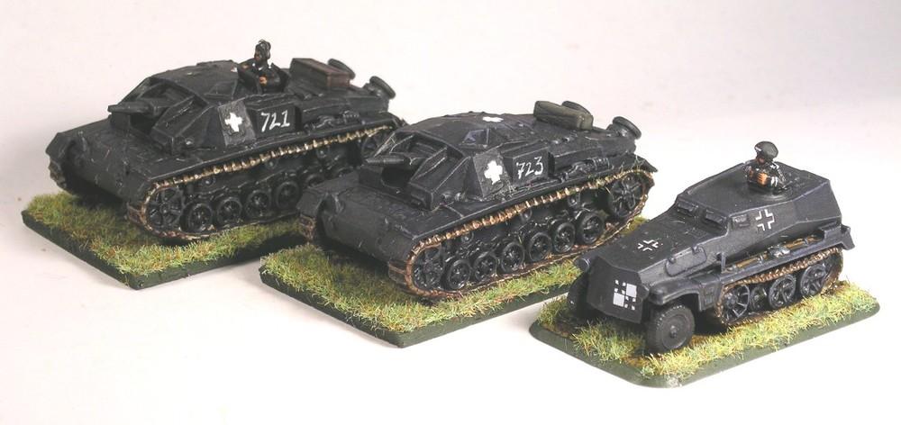 Assault Gun Platoon(StuG IIIA)