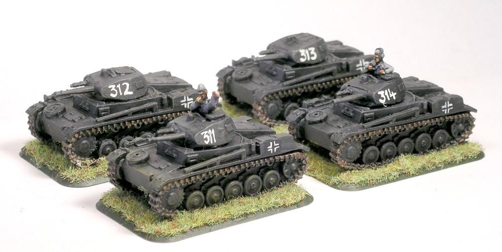 Zug One (Panzer II c)