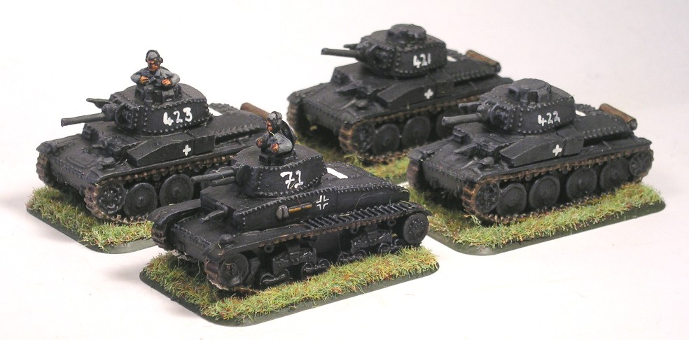 Zug Three (Panzer 35t, 38t)