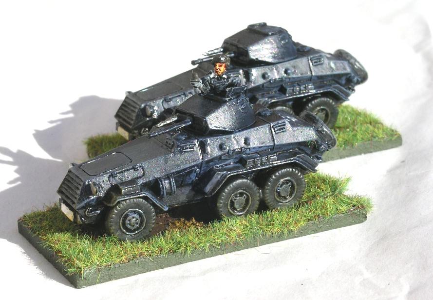 Scout Platton (SdKfz 231 6-rad)