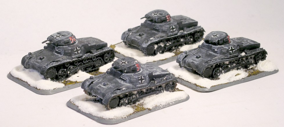 LIGHT TANK PLATOON (PANZER I C)