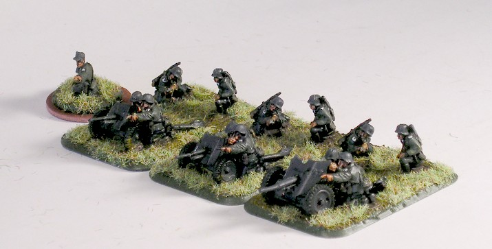 Anti-Tank Gun Platoon (PaK 35, no transport)