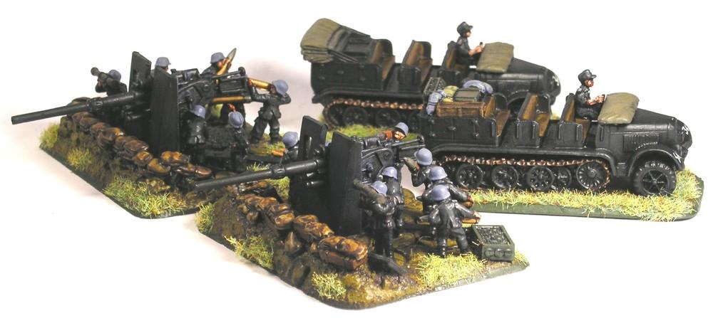 Heavy AA Platoon(FlaK 88)