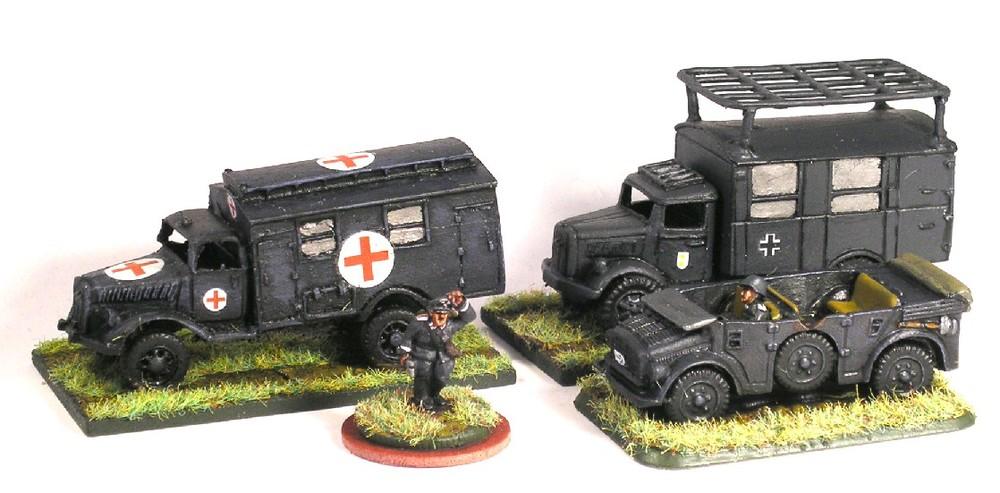 Divisional HQ Units