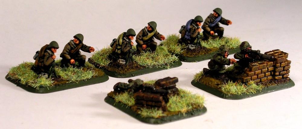 Snipers & Light Mortars