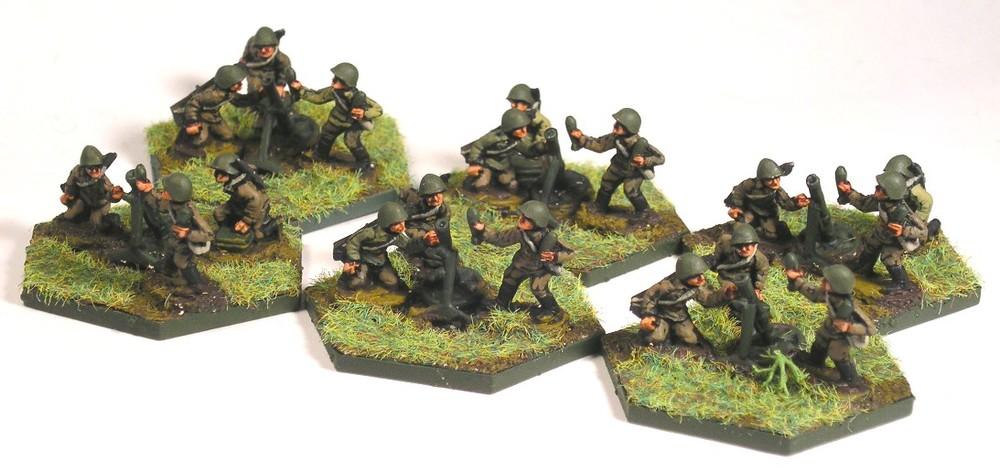 Mortar Platoon (82mm Mortars)