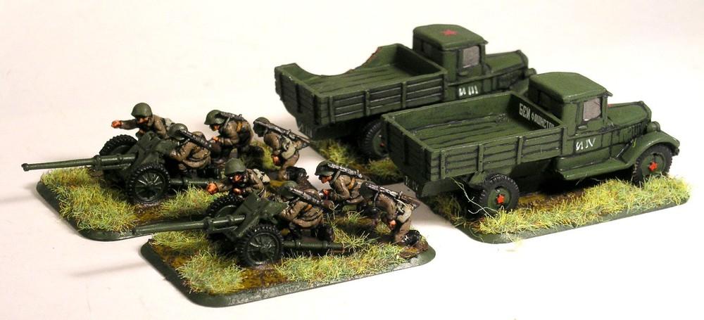 Anti-Tank Gun Platoon(45mm L46 Guns)