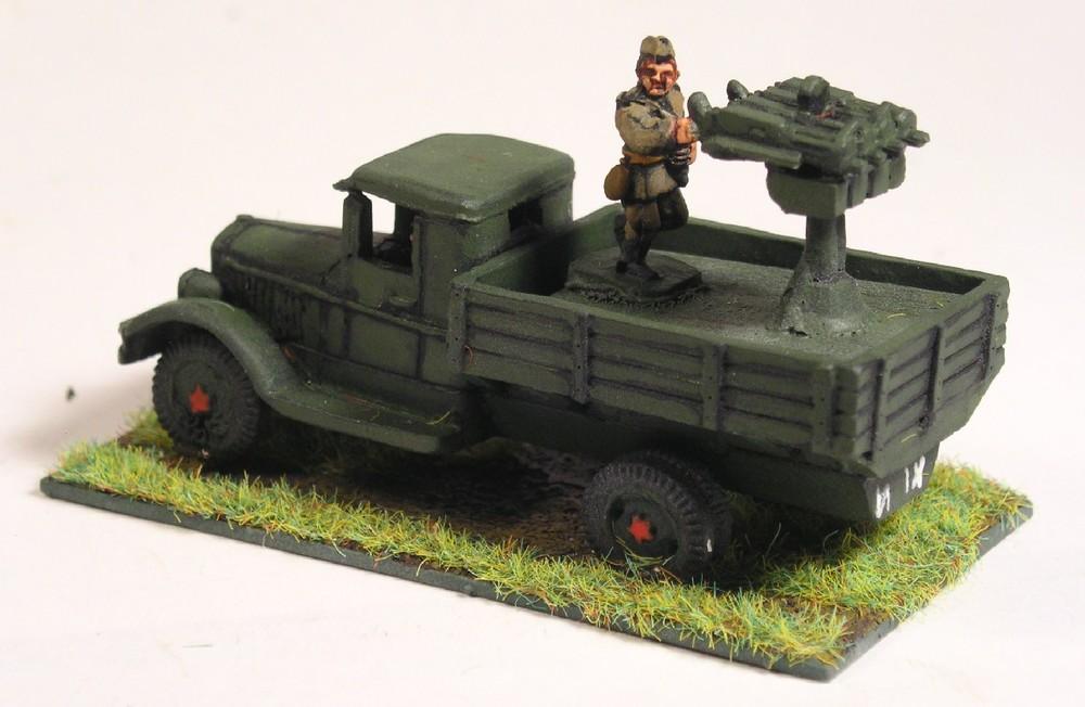 AA Platoon(4xMMG on Truck)