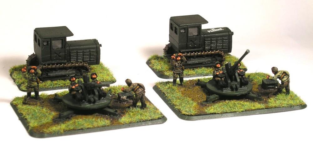 Anti-Aircraft Section(37mm LZP Guns)