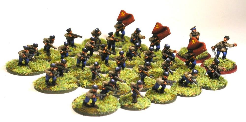 Dsimounted Platoon