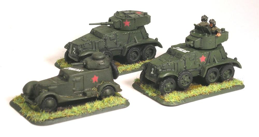 BA-6 & BA-20 Armoured Cars
