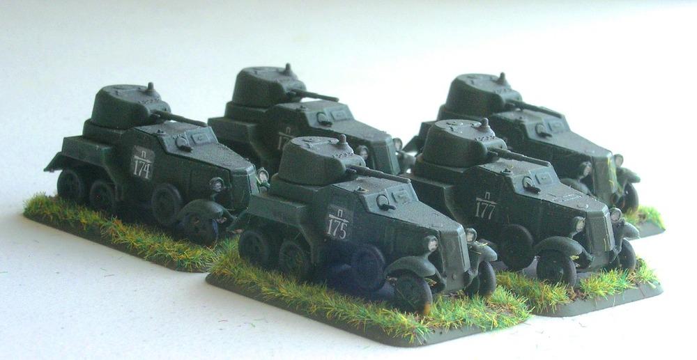 BA-10 Armoured Cars