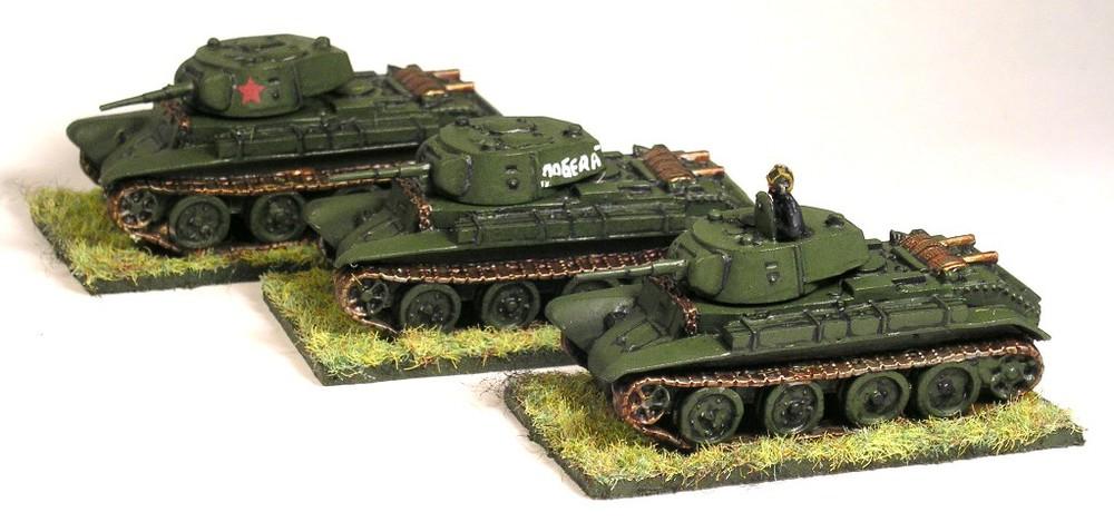 BT-7 Tanks
