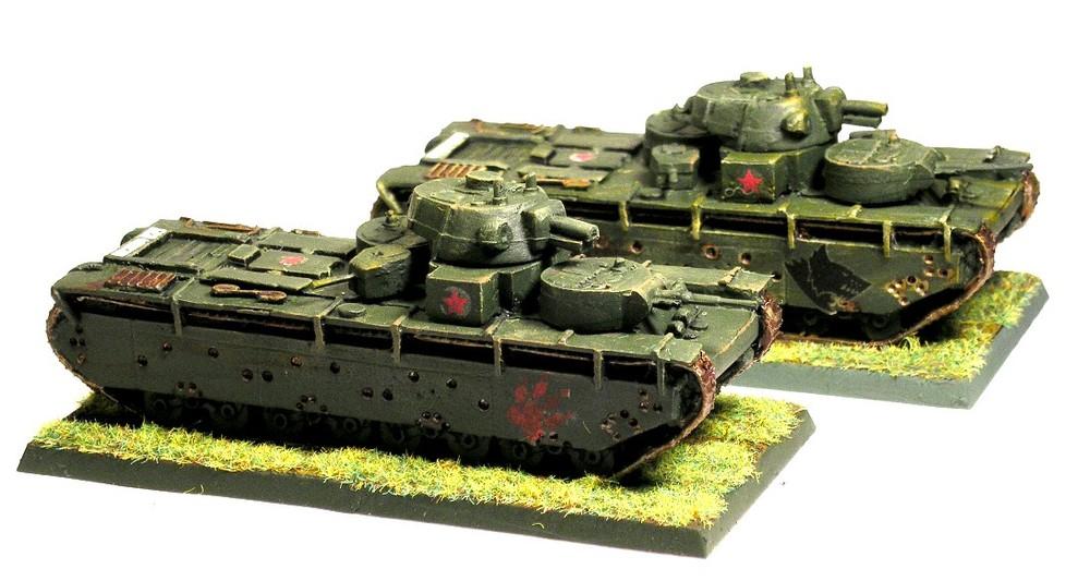T-35 Tanks