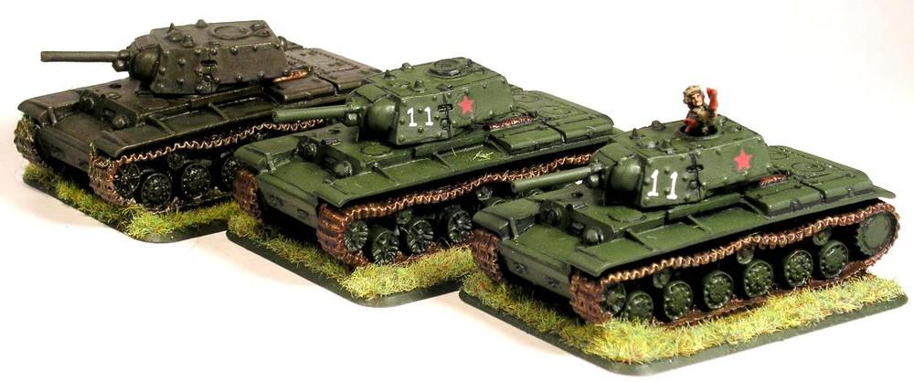 KV-1 Tanks