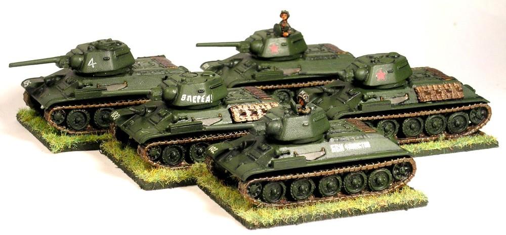 T-34 Tanks (2nd Platoon)