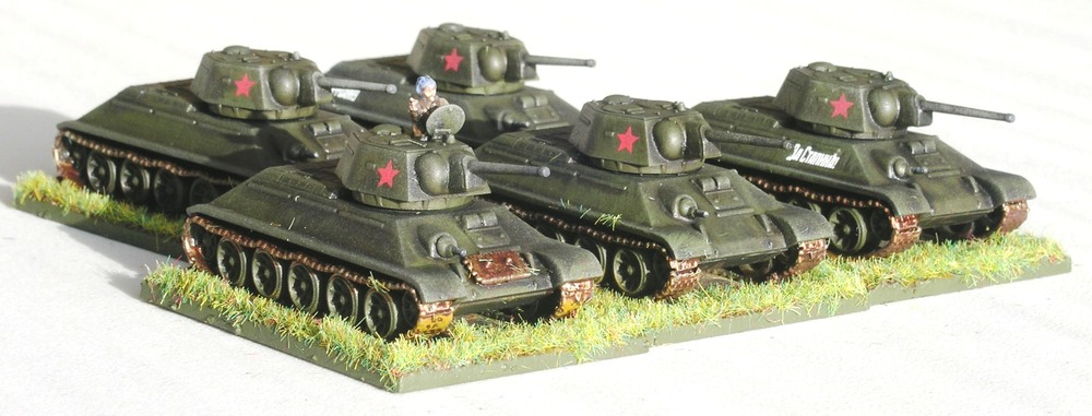 T-34 Tanks (1st Platoon)
