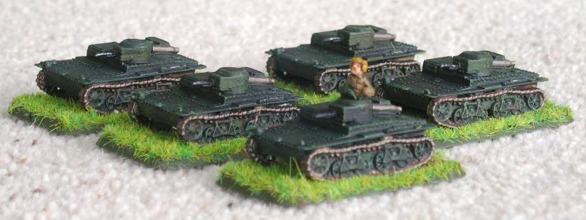 T-38 Scout Tanks