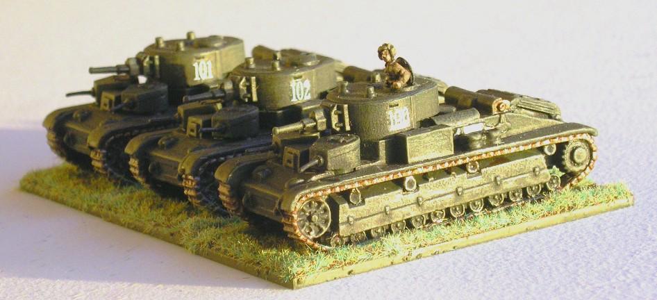 T-28 Tanks