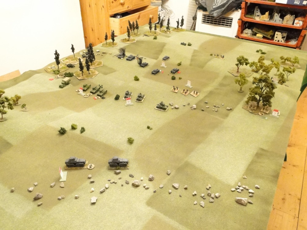 Overview of the battle