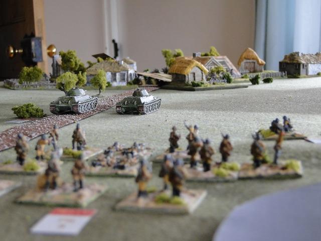 Solotaryevka under attack