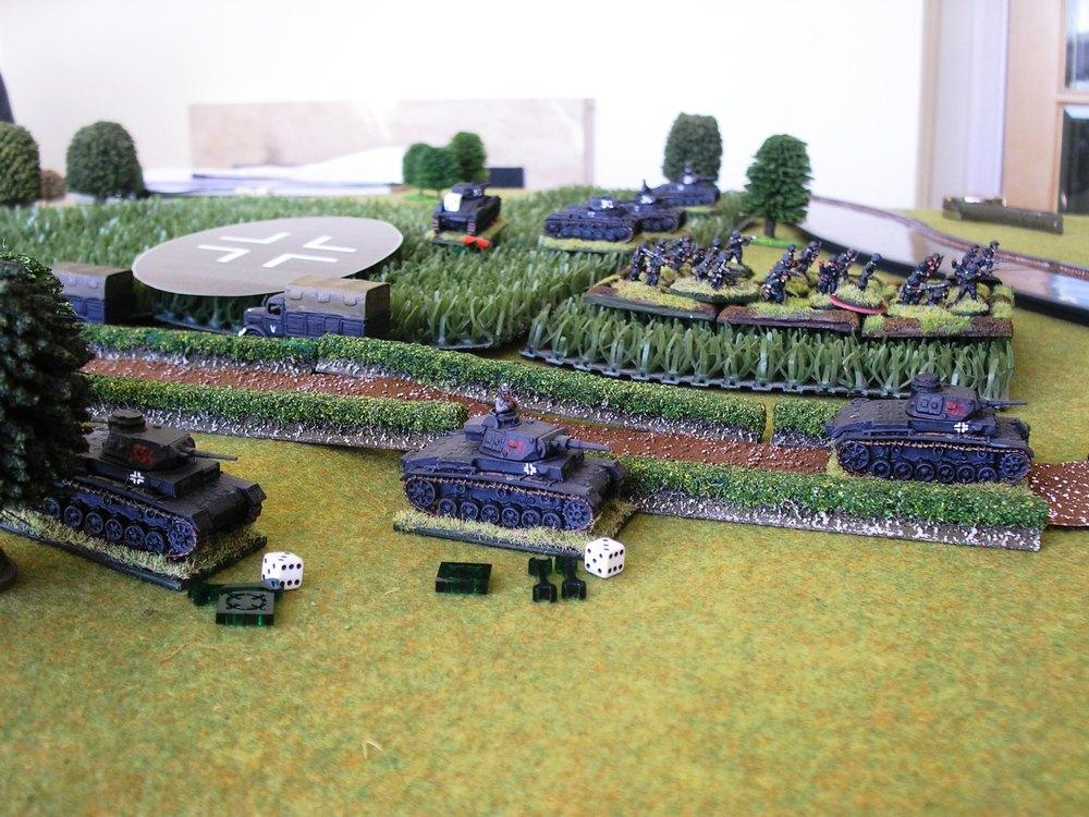 Panzer IIIs suffer!