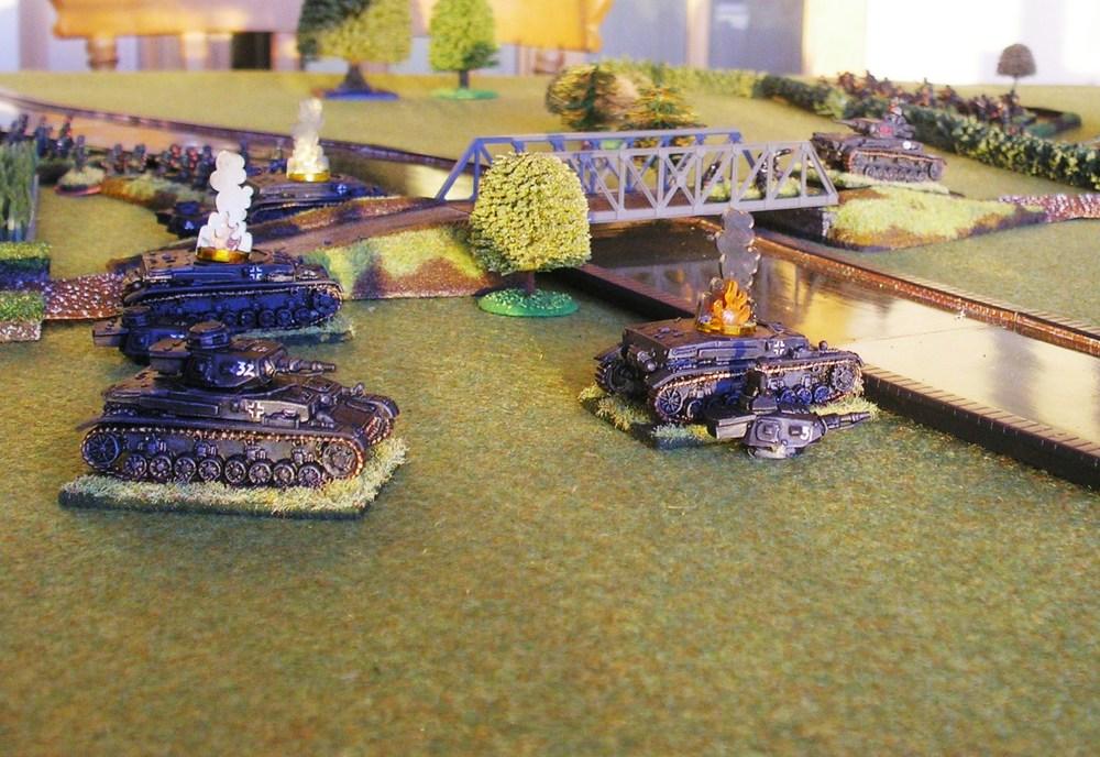 Panzer IVs suffer