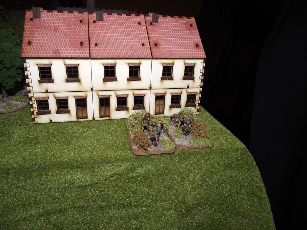 German support mortars.