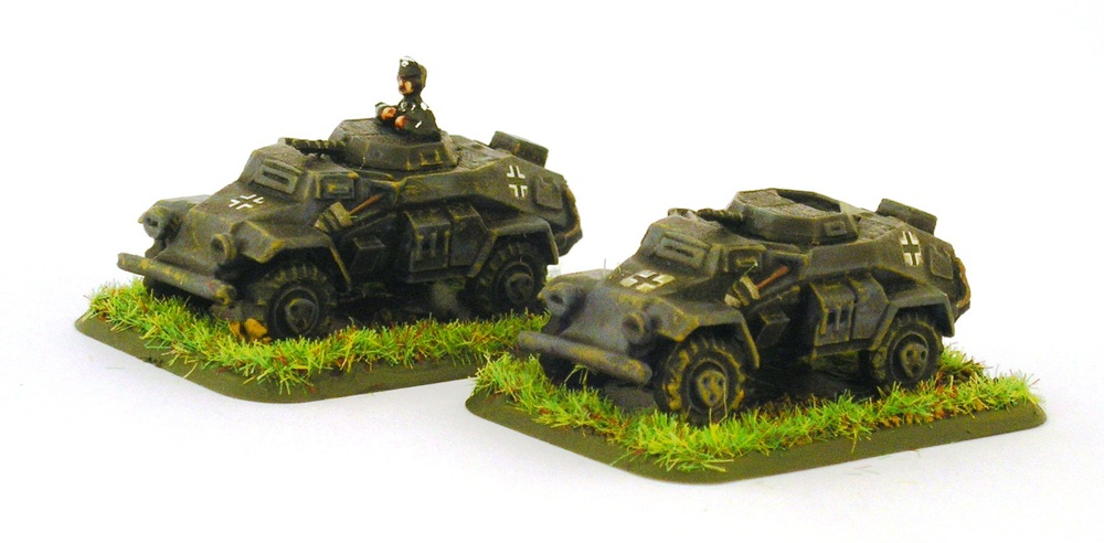 Light Armoured Car patrol