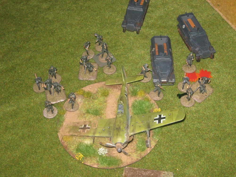 Where did all the soldiers go…? that was bloody!