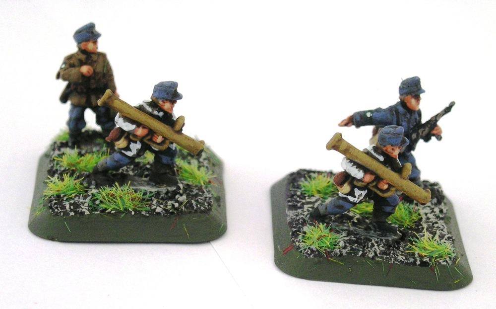 Kompanie HQ Anti-Tank Gruppe(2 x Panzerschrek Teams)