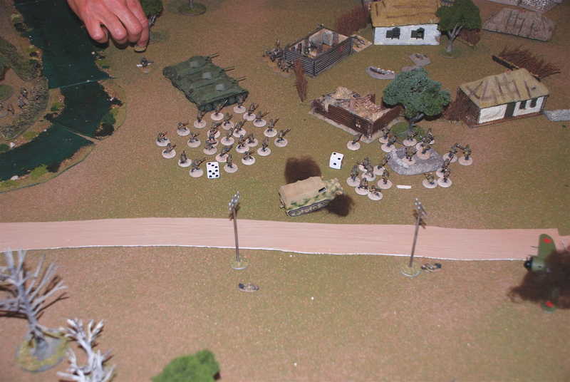 The Russian Advance