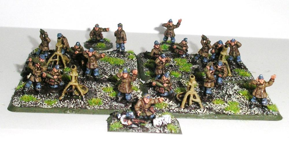 Battalion Heavy Mortar Zug (4 x 12cm Mortars)